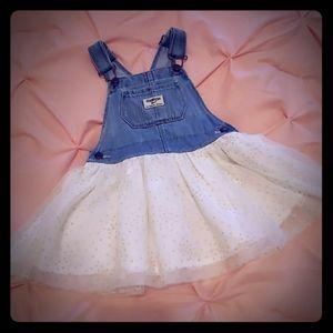Oshkosh overall dress size 18-24 months